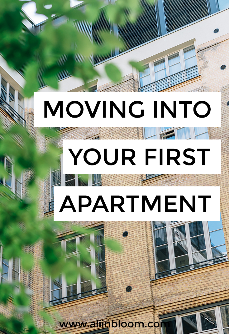 Moving Into Your First Apartment